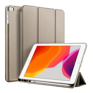 DUX DUCIS Osom Series Tri-fold Cover for iPad 10.2 Guld