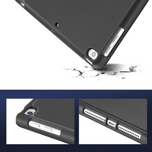 DUX DUCIS Osom Series Tri-fold Cover for iPad 10.2 Black
