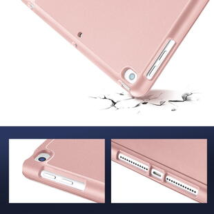 DUX DUCIS Osom Series Tri-fold Cover for iPad 10.2 Pink