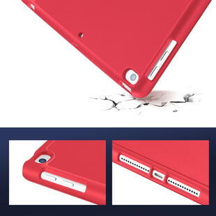 DUX DUCIS Osom Series Tri-fold Cover for iPad 10.2 Red