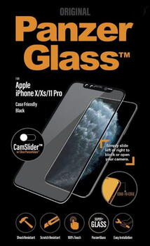 PanzerGlass Apple iPhone X/XS/11 Pro CamSlider Black