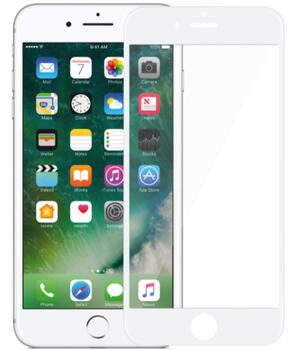 Nordic Shield iPhone 7/8/SE (2020) 3D Curved Screen Protector White (Bulk)
