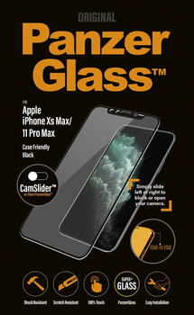 PanzerGlass Apple iPhone XS Max/11 Pro Max CamSlider Black