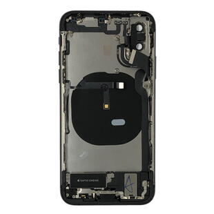 Back Cover Complete for Apple iPhone XS Black