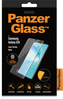 PanzerGlass™ Samsung Galaxy S20 Case Friendly