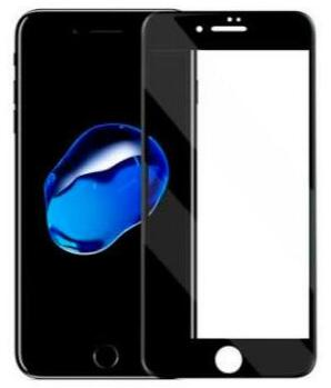 Nordic Shield iPhone 6/6S/7/8 Plus 3D Curved Screen Protector Black (Bulk)