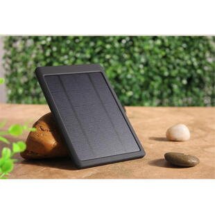 Power Bank - USB Slim Solar Charger in Black
