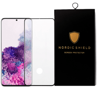 Nordic Shield Samsung Galaxy S20 3D Curved Screen Protector (Blister)