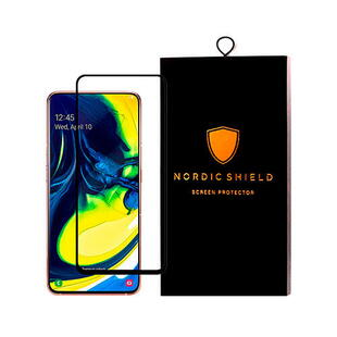 Nordic Shield Samsung Galaxy A80 Screen Protector 3D Curved (Blister)
