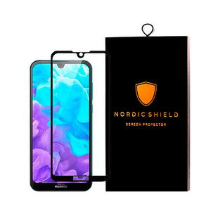 Nordic Shield Huawei Y5 2019 Screen Protector 3D Curved (Blister)