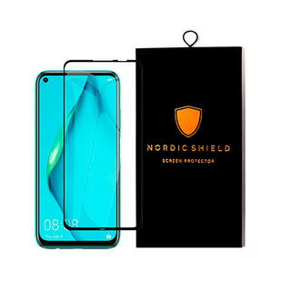 Nordic Shield Huawei P40 Lite Screen Protector 3D Curved (Blister)