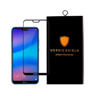 Nordic Shield Huawei P20 Lite Screen Protector 3D Curved (Blister)