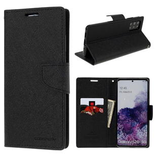 MERCURY GOOSPERY Fancy Diary Case for Samsung Galaxy S20+ Black