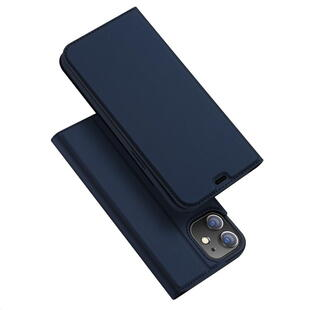 DUX DUCIS Skin Pro Flip Case for iPhone 12 Mini Dark Blue