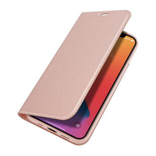 DUX DUCIS Skin Pro Flip Case for iPhone 12/12 Pro Rose Gold