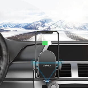VIPFAN CH-H3 Car Holder With Wireless Charger