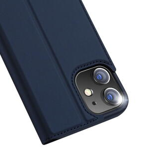 DUX DUCIS Skin Pro Flip Case for iPhone 12 Pro Max Dark blue