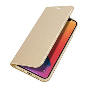 DUX DUCIS Skin Pro Flip Case for iPhone 12 Pro Max Gold