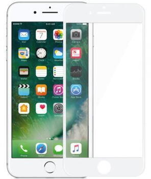 Nordic Shield Apple iPhone 7Plus/8Plus 3D Curved Screen Protector White (Blister)