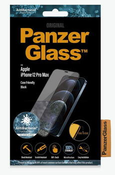 PanzerGlass™ iPhone 12/12 Pro Case Friendly Black