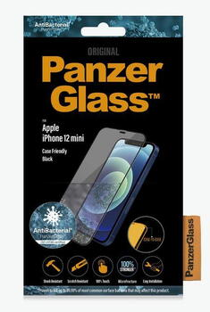 PanzerGlass™ iPhone 12 Mini Case Friendly Black