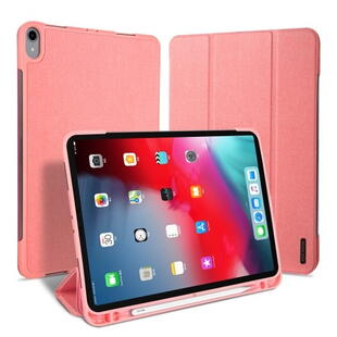 DUX DUCIS Domo Series Tri-fold Case for iPad Pro 11 (2020) Pink