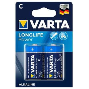 VARTA ALKALINE C (LR14) 1,5V BATTERY, 2 Pcs. Blister