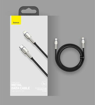Baseus Cafule Series USB Type C - Lightning Cable 2m