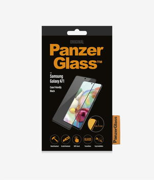 PanzerGlass™ Samsung Galaxy A71 Case Friendly Black