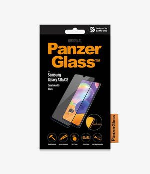 PanzerGlass™ Samsung Galaxy A31/A32 4G Case Friendly Black