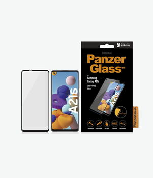 PanzerGlass™ Samsung Galaxy A21s Case Friendly Black