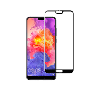 Huawei P20 Pro Screen Protector 3D Curved Black (Bulk)
