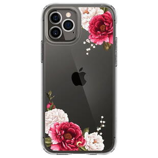 Spigen Cyrill iPhone 12/12 Pro Red Floral Case