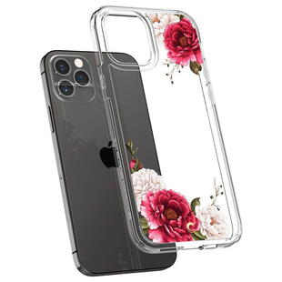 Spigen Cyrill iPhone 12 Pro Max Red Floral Case