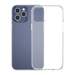 Baseus Simple Series Transparent TPU Case for iPhone 12/12 Pro