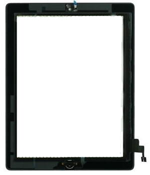 Touch Unit Assembly for Apple iPad 2 Black A