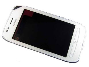 Nokia Lumia 710 - Front Cover + Touchscreen (White)