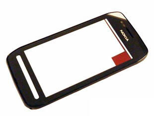 Nokia 603 Care A-Cover Touch Window Black