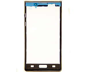 LG Optimus L7 P700 Front Cover Black