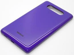 Nokia Lumia 820 Battery Cover Lilla