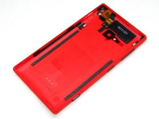 Nokia Lumia 720 Original Batteri Cover Rød