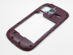 Samsung GT-i8190 Galaxy S3 Mini Middle Cover Red