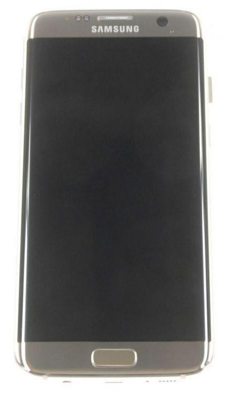 Samsung Galaxy S7 Edge Display Unit Gold Mobile Parts
