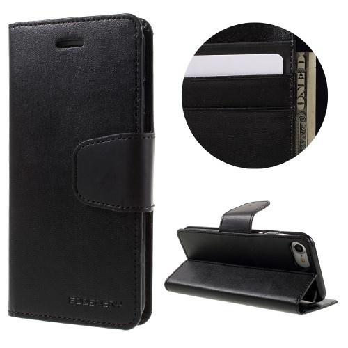 super popular 3d976 c3689 MERCURY GOOSPERY Sonata Diary Case for iPhone 7 Black | Mobile Parts