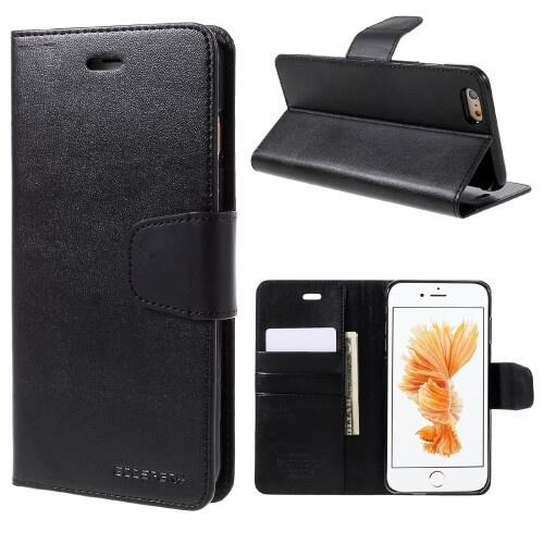 premium selection fc43e 5bf43 Mercury GOOSPERY Sonata Diary Case for iPhone 6 Plus/6S Plus Black | Mobile  Parts