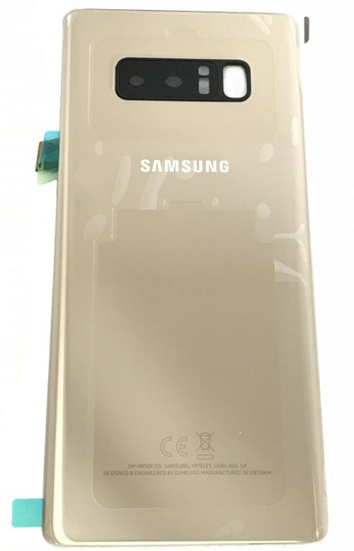 low priced 819a9 a4f66 Samsung Galaxy Note 8 SM-N950F Back Cover Gold | Mobile Parts
