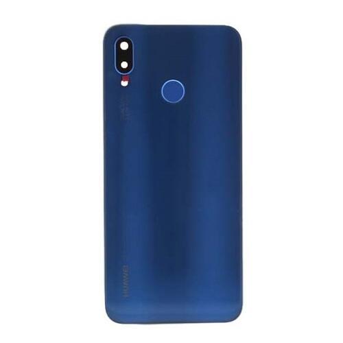 Huawei P20 Lite Batteri Cover Blå | Mobil reservedele og