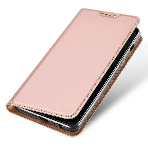 best website db4ce 8ea98 DUX DUCIS Skin Pro Flip Case for Samsung A8 (2018) Rose Gold | Mobile  Accessoríes