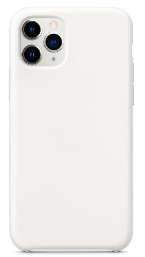 Hard Silicone Case for iPhone 11 Pro Max White