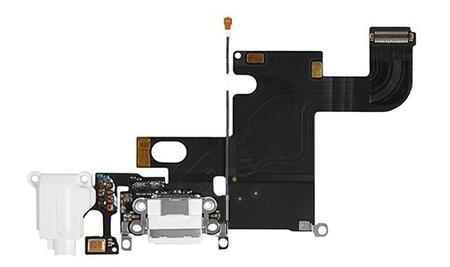 Apple iPhone 6 Charging/Audio Jack Flex Cable Hvid